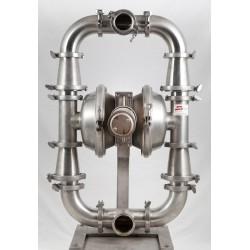 Bomba neumática doble membrana inoxidable