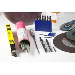 Eléctrodos rutilo, hierro e inóxidable